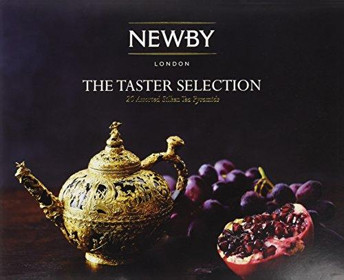 Newby Teas The Taster Selection Silken Pyramids Tea Gift Box