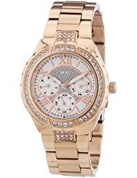 GUESS Chronograph White Dial Women's Watch - W0111L3