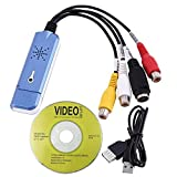 SLB Works 2.0 USB Converter Audio Video Capture Grabber Adapter for Win/XP/7/8/10 PAL X1L0