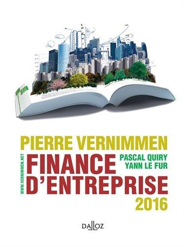 Finance d'entreprise 2016 - 14e d.