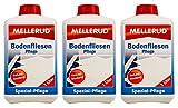 3x MELLERUD Bodenfliesen Pflege 1 L Set Naturstein Keramik Granit Tonfliesen