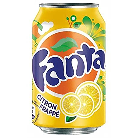 Fanta Citron 33cl pack de 24
