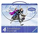 Ravensburger 2407300 - Frozen Die Eiskönigin in Einer Schachtel 4 x Puzzle-Set