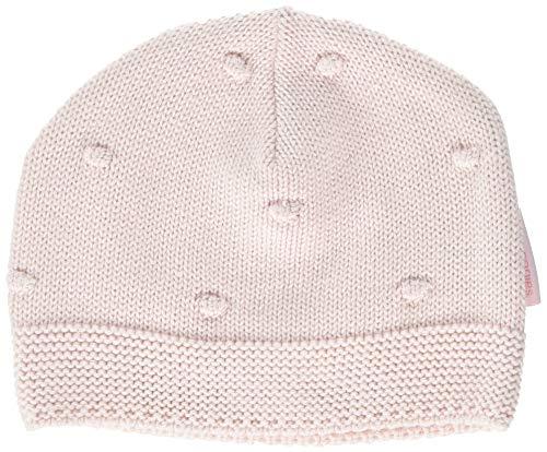 Noppies Baby-Mädchen Mütze G Hat Knit Weirton, Rosa (Blush C093), One Size...