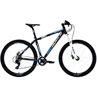 Agece Scape 27.5 Suntour XCT Bicicleta, Hombre, Negro/Azul, 19