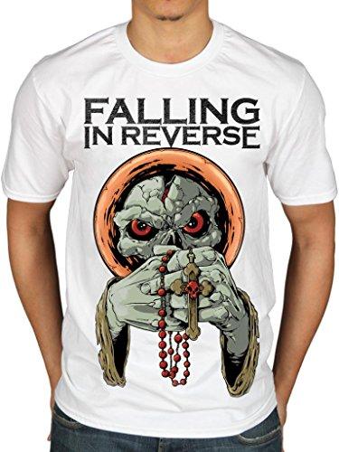 Official Falling In Reverse I'm No Saint T-Shirt Rock Band Hardcore Radke (Band-t-shirts Reverse Falling In)