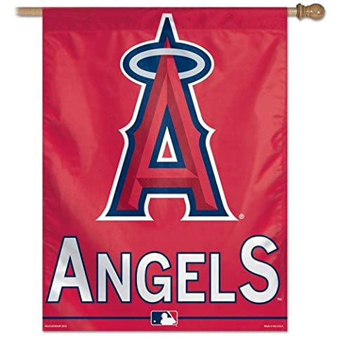 Los Angeles Angels of Anaheim 27 inchesx37 inches Banner
