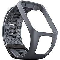 TomTom Bracelet pour Montre RUNNER 3, SPARK 3, RUNNER 2 & SPARK - Taille Large - Gris