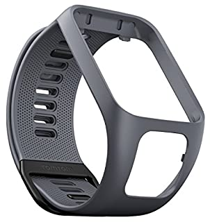 TomTom - Bracelet pour Montre TomTom RUNNER 3, SPARK 3, RUNNER 2 & SPARK - Taille Large - Gris (B01K4BX5O2) | Amazon price tracker / tracking, Amazon price history charts, Amazon price watches, Amazon price drop alerts