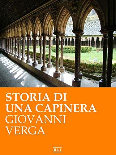 Storia di una capinera (Annotato) (RLI CLASSICI) (Italian Edition)
