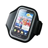 Unique Gadget Black Sports Gym Armband for Samsung Galaxy S2 I9100 Galaxy S II Armband