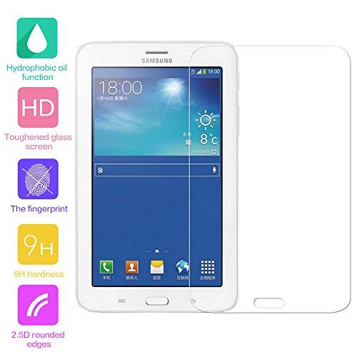 Panzerglas Glas Folie Schutzfolie Schutzglas Panzerfolie Displayschutzfolie Displayschutz für Samsung Galaxy Tab 3 Lite 7.0 T110 T111 ()