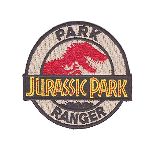 Ranger Park Kostüm - Minimum Mouse Jurassic Park Park Ranger Zum Aufbügeln Dinosaurier Aufnäher
