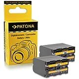 2x Batterie NP-F970 NPF970 pour Sony Camcorder Sony CCD-TR Series | CCD-TRV Series | Sony DCR-TR Series | Sony DCS-CD | Sony MVC-FD Series et bien plus encore…