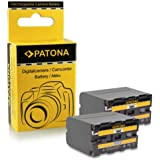2x Batteria NP-F970 NPF970 per Sony Camcorder Sony CCD-TR Series | CCD-TRV Series | Sony DCR-TR Series | Sony DCS-CD | Sony MVC-FD Series e più…