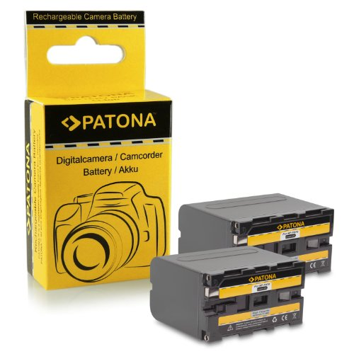 Galleria fotografica 2x Batteria NP-F970 NPF970 per Sony Camcorder Sony CCD-TR Series | CCD-TRV Series | Sony DCR-TR Series | Sony DCS-CD | Sony MVC-FD Series e più…