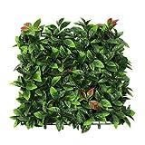 YNFNGXU Siepe Artificiale Outdoor Imitazione Parete vegetale Erba Verde Privacy Privacy Schermo Decorativo Recinzione 50 Cm X 50 Cm (Color : 03)