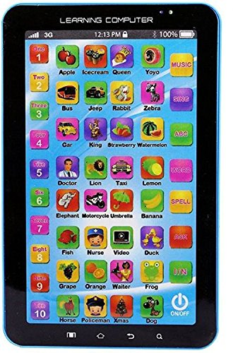 Sajani P1000 Kids Educational Learning Tablet Computer