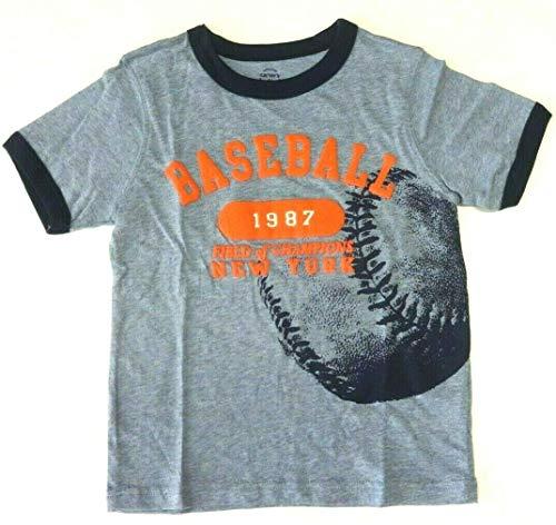 Carter's T-Shirt für Jungen 98/104 Sommer Spruch Baseball US Size 4 t Boy blau Carters Shirt