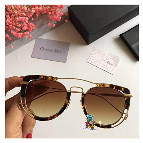 day spring online shop Original Vintage Eyeglasses Optical Glasses Eyeglass Frame for Christian CD0350-leopard Brown