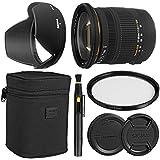 SigmaÊ17-50mm F/2.8 EX DC OS HSM Zoom Lens For Canon DSLRs With APS-C Sensors + Essential Bundle Kit + 1 Year Warranty - International Version
