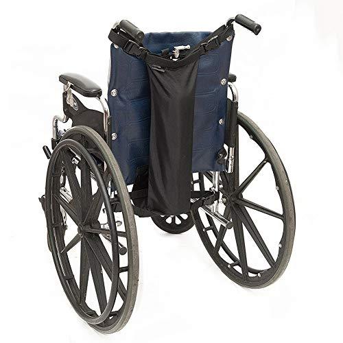 Sauerstoff Rollstuhl (SHKY Rollstuhl-Sauerstofftankhalter - Rucksack mit Schnallen, Passt für D- und E-Tanks, strapazierfähiges, wasserdichtes Nylon für Walker und Rollator)