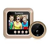 yeshi 6,1cm LCD Digitaler Türspion Viewer Tür Eye Klingeln, HD Kamera Home Tür Glocke