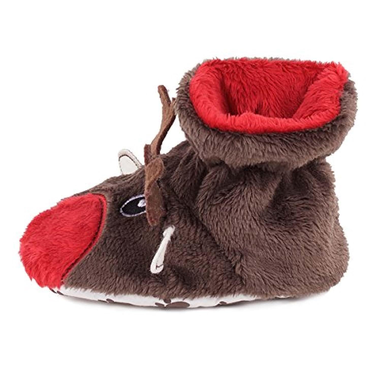 TOTES Toasties Tots Slippers - Reindeer (18-24 months)