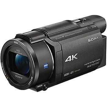 Sony FDR-AX53 Caméscope 4K Zoom Optique 20x Capteur CMOS Exmor R