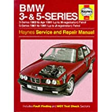 BMW 3 and 5 Series Service and Repair Manual (Haynes Service and Repair Manuals)