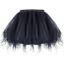 b226e6dc82 ZeWoo Mujer Adultos Mini Falda de Ballet Skirt Princesas Tutú de Tul para  Baile Disfraces Fotografía