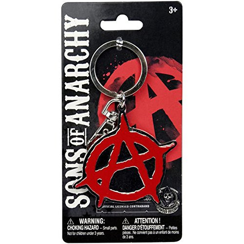 Sons of anarchy anarchy métal-logo porte-clés