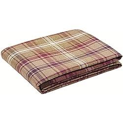 """Manta para sofá, de tela escocesa, tejido con aspecto de lana, 130 x 200 cm De la gama """"Angus"""" de McAlister"""