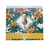 Grupo Erik Editores CS19019 - Calendario de sobremesa 2019 Frida Kahlo, 17 x 20 cm