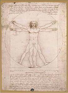 Editions Ricordi 0901N15706-Black Leonardo da Vinci Schema Delle proporz ioni 1500Piezas Puzzle
