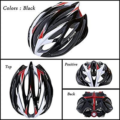 X-TIGER Adult Cycling Helmet with Safety, Adjustable Sport Cycling Helmet Bike Bicycle Helmets for Road & Mountain Biking for Adult Men Women,Youth - Racing,Safety Protection Bike Helmet by X-TIGER
