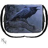 Cry del Cuervo Pájaro Messenger Bag–40cm–Daniel Smith–Nemesis Now