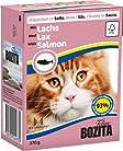 Bozita Cat mit Lachs 370g Katzen-Nassfutter Häppchen in Sosse