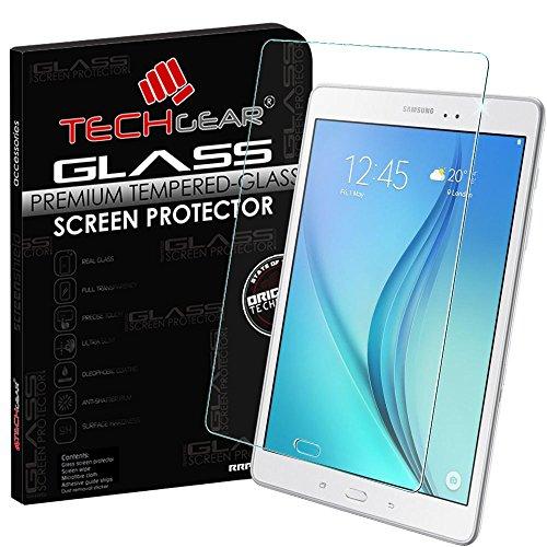 Techgear® Samsung Galaxy Tab A 9.7(SM-T550Series) cristal edición Original vidrio Templado Protector de pantalla