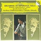 Brahms : Symphonie n� 4 - N�nie - Variations sur un th�me de Haydn