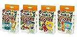 PlayMais 160656 Mini Mosaic Kit pour remplir Le Calendrier de l'Avent Env. 1200, Lot de 4, Multicolore.