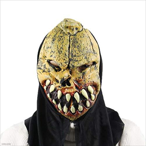 XRFHZT Halloween Fliege Tontos Party Partido Performance Props Geistermaske Weich