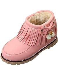 V-SOL Niñas Zapatos de Nieve Calzado Antideslizante