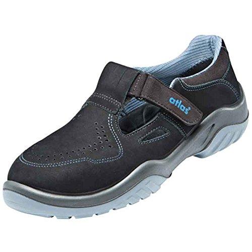 Atlas chaussures-ergo-tex sicherheitsschuh 360 Noir - Noir/bleu