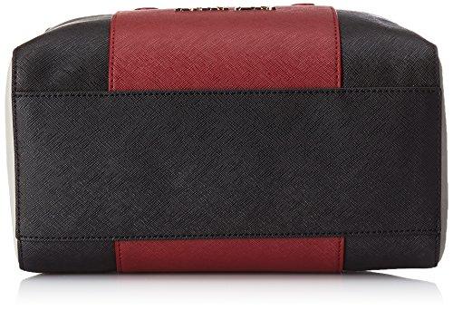 Armani - 922542CC857, Borsa con Maniglia Donna Rosso (Rot (BURGUNDY-NERO-GRIGIO 07276))