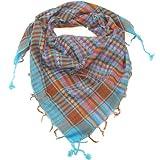 Sciarpe per i ragazzi Multi Colore Blu - Kefiah per uomini e donne - Lovarzi uomo e donne foularde