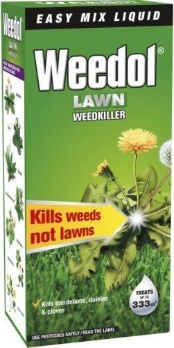 weedol-verdone-extra-lawn-weedkiller-kills-weeds-500ml-treats-333m2-garden-new