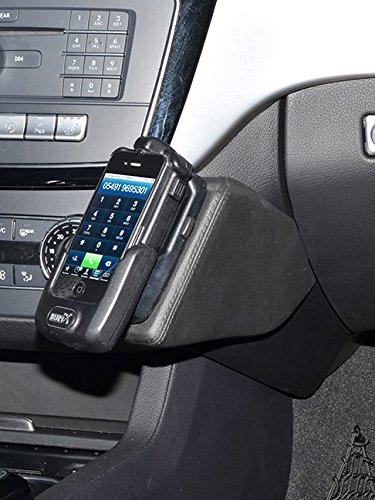 KUDA 2165 Halterung Kunstleder schwarz für Mercedes GLE (W166) / GLS (X166) ab 2015 Iso Mount (iso-radios