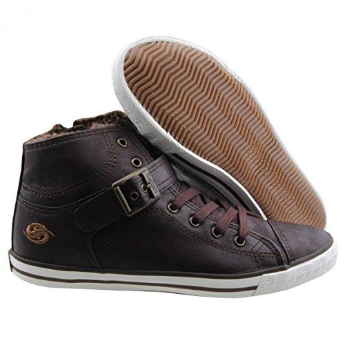 Dockers , Hi-Top Sneakers femme Marron - Braun (Cafe/Espresso)