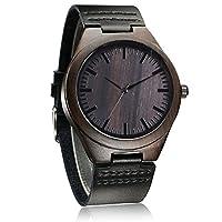 1. la bellezza naturale di orologio in legno fatti a mano, attirerà tutti. È l'orologio di sano, confortevole ed elegante.2. vi farà stare ed è un nuovo modo elegante per mostrare il tuo stile personale. È molto facile da abbinare il vostro v...
